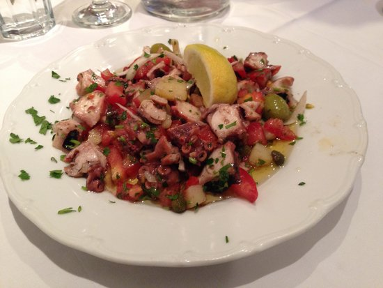 Restaurant Sperun: Yummy Octopus Salad