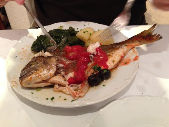 Restaurant Sperun: Fish Dinner