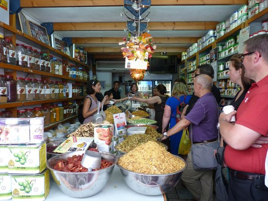 Delicious Israel - Private Culinary Walking Tours: Tasting Israeli couscous