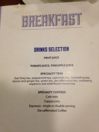 breakfast buffet menu 1 of 2 picture of worcester whitehouse rh tripadvisor co za breakfast buffet menu ideas breakfast buffet menu hotel