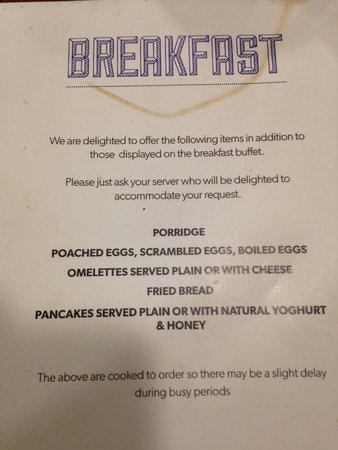 breakfast buffet menu 2 of 2 picture of worcester whitehouse rh tripadvisor co za breakfast buffet menus for guests breakfast buffet menus for guests