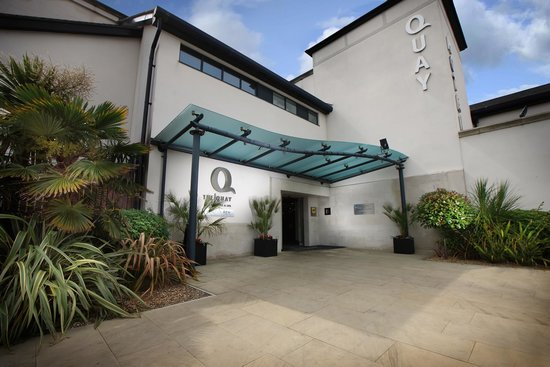 The Quay Hotel & Spa: Hotel Entrance