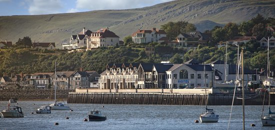 The Quay Hotel & Spa: View from Conwy Estuary