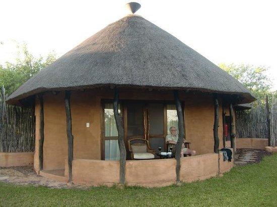 "Ons ""huisje"" Kudu van Mopane Bush Lodge"