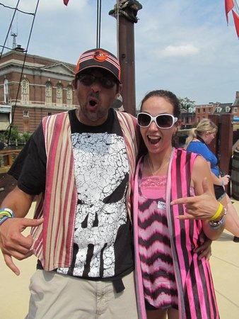 Urban Pirates: Son & Daughter in law, they had fun