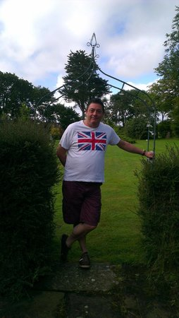 Carleton Green Country House B & B: me in the garden
