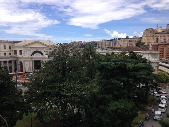 Grand Hotel Savoia : View outside my room