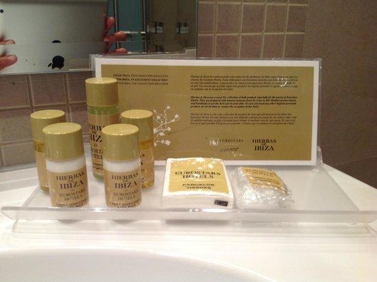 Eurostars Patios De Cordoba : Produtos de higiene de boa qualidade