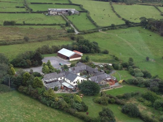 Tyn Rhos Country House: Aerial View of Property