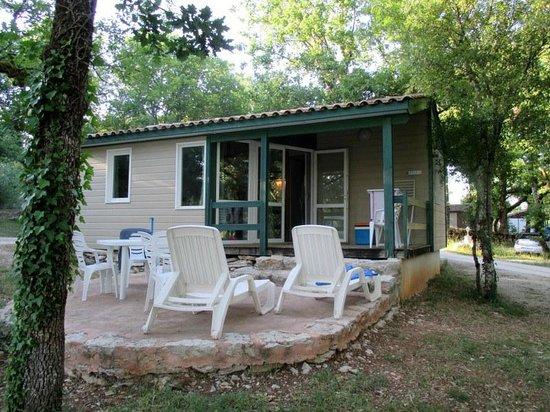 Le Mas de Saboth : un des bungalows
