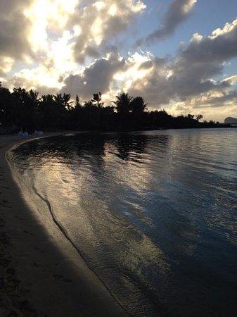 LUX* Grand Gaube : sunset
