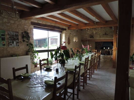 Le Bois de l'Ange: Salle à manger du Bois de l'Ange