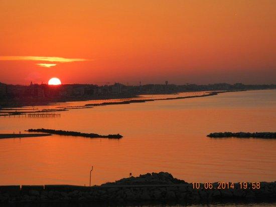 Hotel Baia Imperiale: Splendido tramonto