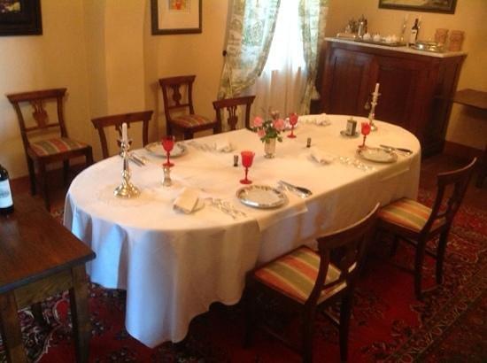 Casa Bellavista B&B : what an amazing, elegant, Tuscan dining experience