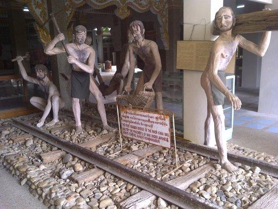 JEATH War Museum: Building the railway