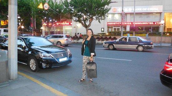 Dorsett Shanghai: Alrededores