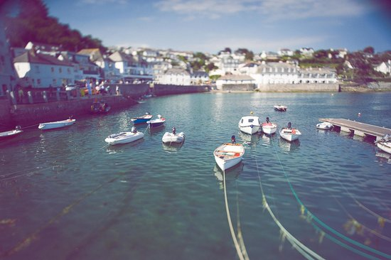 The St Mawes Hotel: The Harbour Beside us