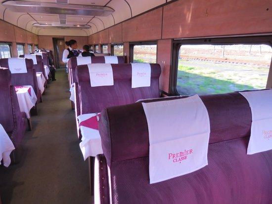 Premier Classe Train : Enjoyable dining