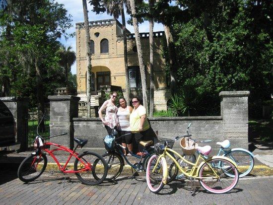 St. Augustine Bike Rentals: old ministary