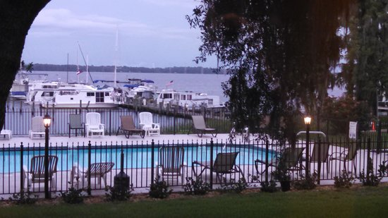 Crystal Cove Riverfront Resort: view from room 116