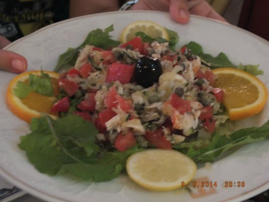 Ragusa 2: lobster salad
