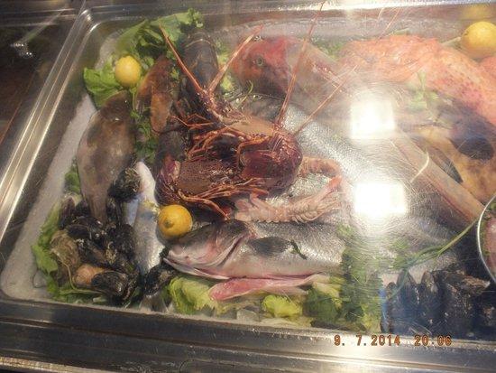 Ragusa 2: Seafood display