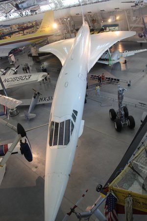 Smithsonian National Air and Space Museum Steven F. Udvar-Hazy Center: Concorde