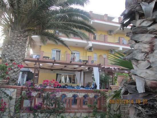 Hotel Solemar : arrivo