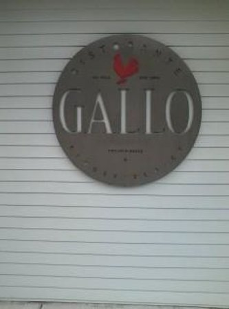 Ristorante Gallo: Entrance