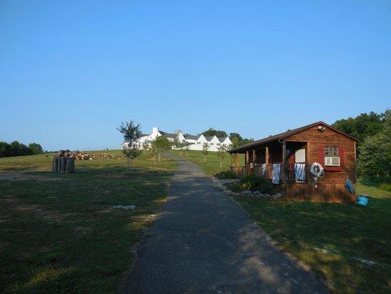 Shenandoah Crossing: Lodge being renovated