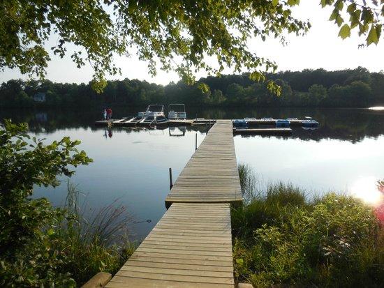 Shenandoah Crossing: dock
