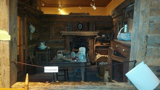 Children's Museum of Oak Ridge: Old home replica (they had several, all different rooms)