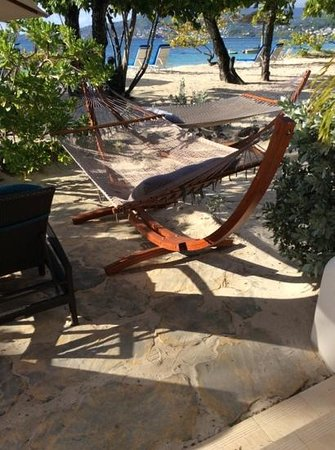 Spice Island Beach Resort: Part of the patio