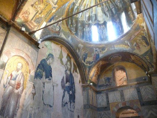 Kariye Museum (The Chora Church): the interior.