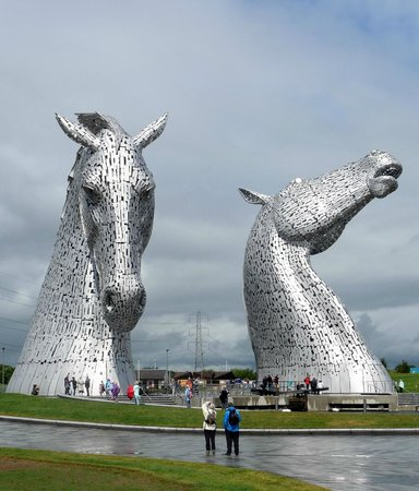 The Kelpies & The Helix: Kelpies