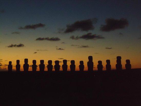 Hotel y Cabañas Tea Nui: Ahu Tongariki