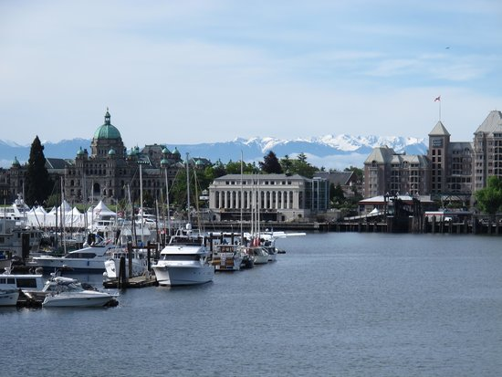 Quality Inn Downtown Inner Harbour : Victoria Waterfront