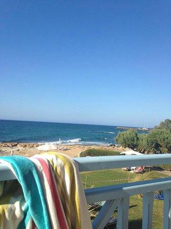 Pyrgos Beach Hotel: View from balcony