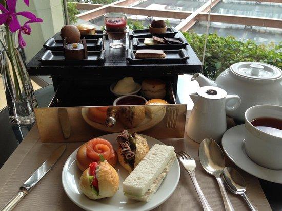 Shangri-La Hotel,Bangkok: アフタヌーンティー!(^_^)