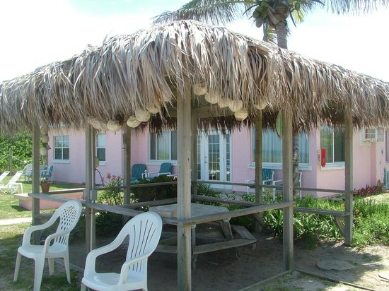 Sea Scape Motel - Oceanfront Getaway : Tiki hut
