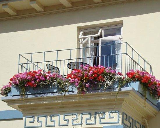 Best Western Hotel De Havelet: Our balcony