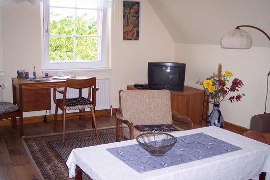 Alte Schule: liebevoll eingerichtete Zimmer