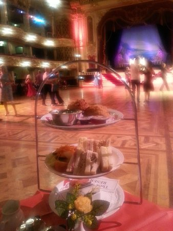 The Blackpool Tower Ballroom: Afternoon Tea