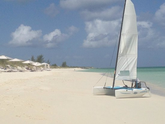 COMO Parrot Cay, Turks and Caicos: The beach as busy as it got