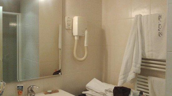 Hotel du Nord et de l'Est: Bagno