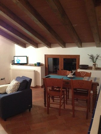 ambiente unico ( cucina soggiorno) - foto di b&b noce spagnola ... - Ambiente Unico Cucina Soggiorno Foto