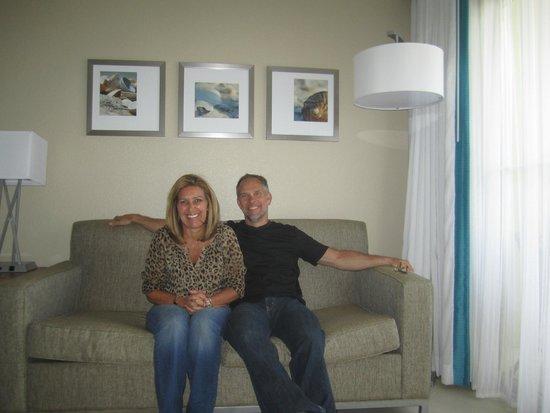 Holiday Inn Resort Aruba - Beach Resort & Casino: chilling, day one