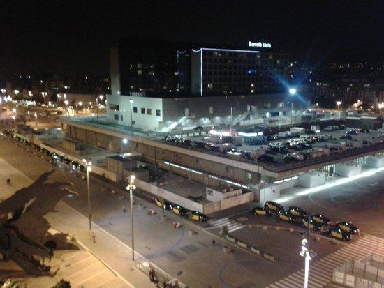 Expo Hotel Barcelona: Vista desde la habitación, en la Octava planta