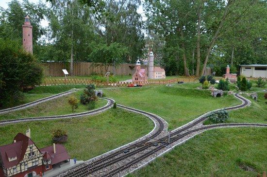 Dziwnow, Polônia: Park Miniatur i Kolejek