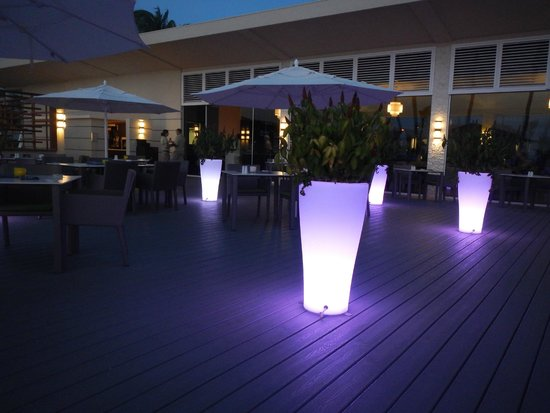 Bucuti & Tara Beach Resort Aruba: Elements at night